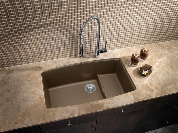 Blanco 440063 32 Inch Undermount Single Bowl Granite Sink
