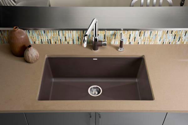 Blanco 440148 32 Inch Undermount Single Bowl Granite Sink