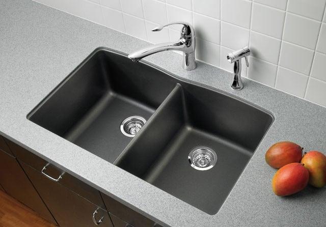 blanco diamond sink. Blanco Diamond 440182 - Cafe Brown Kitchen View Sink A