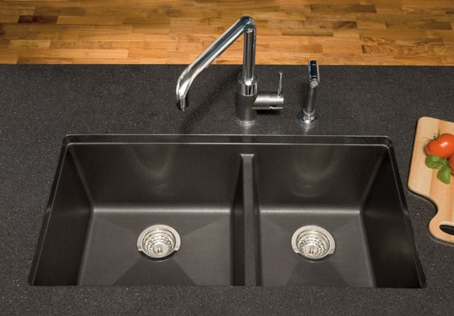 Blanco 441125 33 Inch Undermount Double Bowl Granite Sink