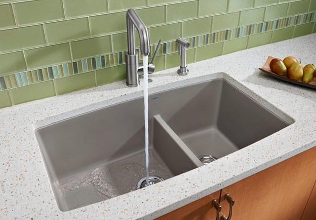 Blanco 441314 33 Inch Undermount Double Bowl Granite Sink
