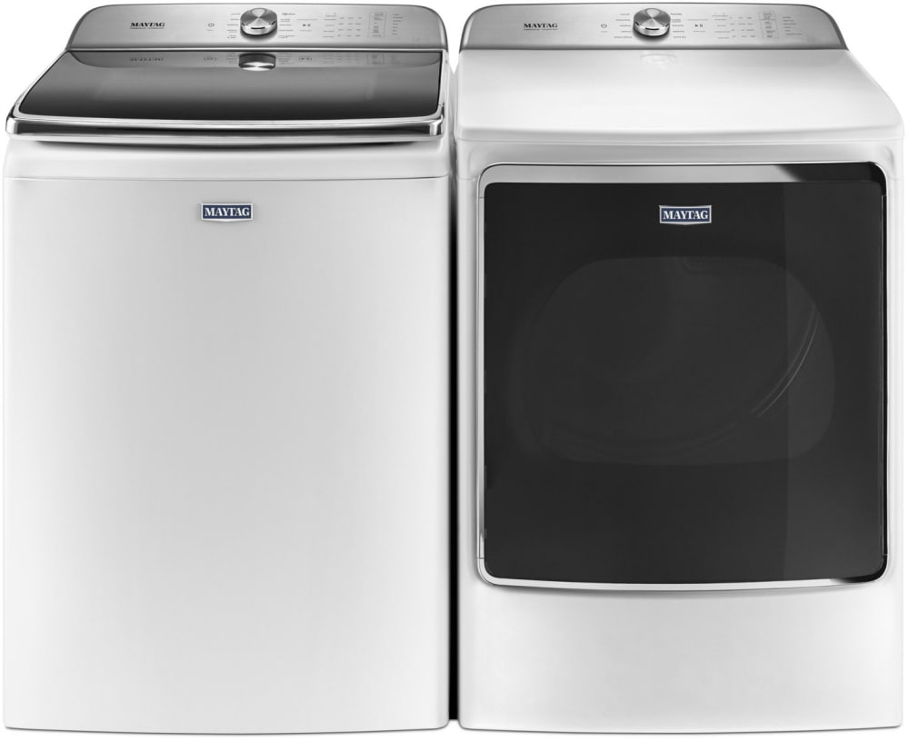 Maytag Mawadrgw5 Side By Side Washer Amp Dryer Set With Top