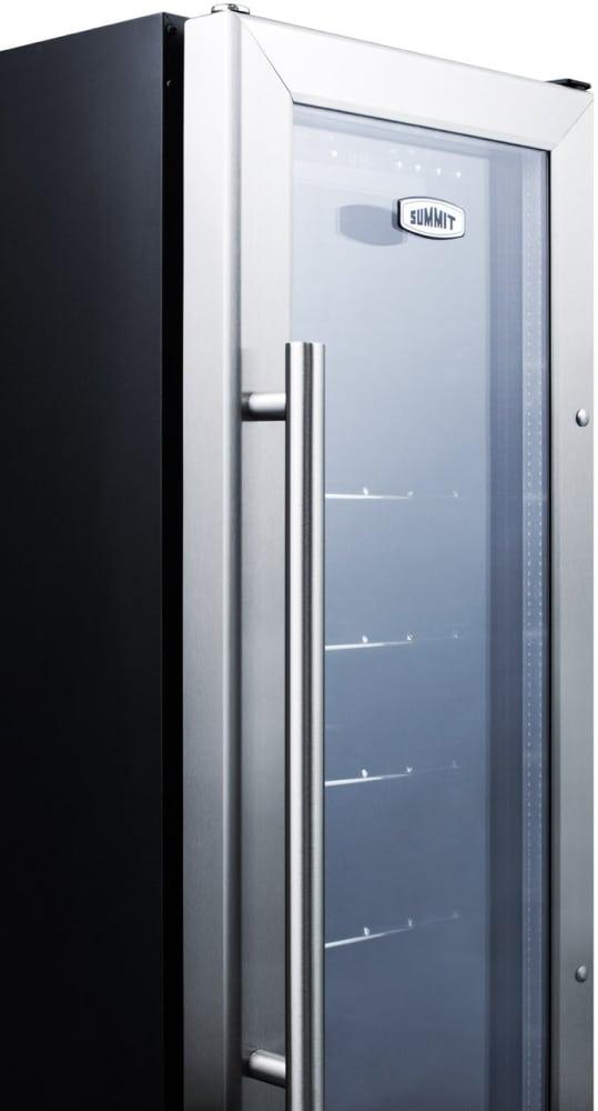 Summit scr1225b 12 inch freestandingbuilt in beverage center with summit scr1225b summit glass door beverage center planetlyrics Image collections