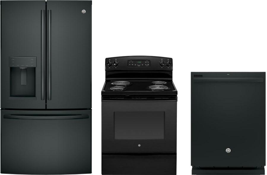 Ge gereradw26 3 piece kitchen appliances package with - 3 piece kitchen appliance package ...