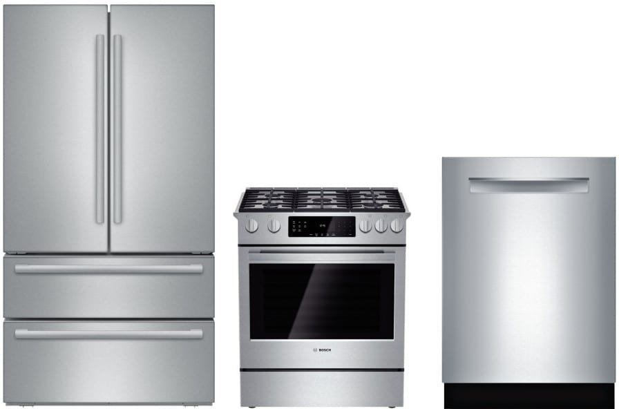 Bosch boreradw1 3 piece kitchen appliances package with - 3 piece kitchen appliance package ...