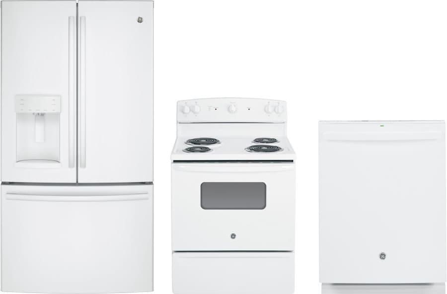Ge gereradw39 3 piece kitchen appliances package with - 3 piece kitchen appliance package ...