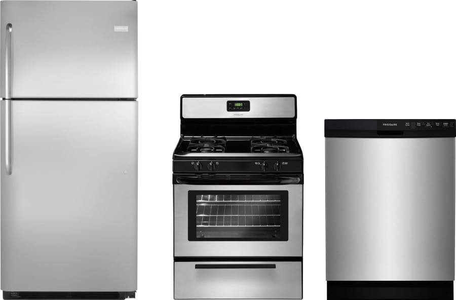 Frigidaire frreradw21 3 piece kitchen appliances package - 3 piece kitchen appliance package ...