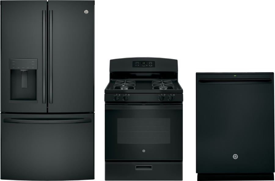 Ge gereradw44 3 piece kitchen appliances package with - 3 piece kitchen appliance package ...