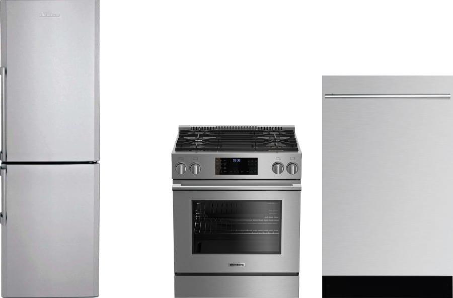 Blomberg blreradw2 3 piece kitchen appliances package with - 3 piece kitchen appliance package ...