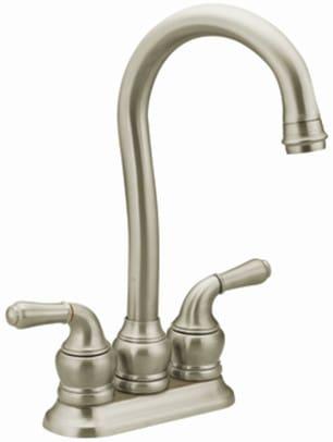 Moen 5996sl Double Lever Cast Spout Bar Faucet With 5 1 2