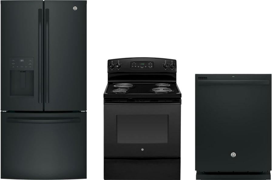 Ge gereradw57 3 piece kitchen appliances package with - 3 piece kitchen appliance package ...