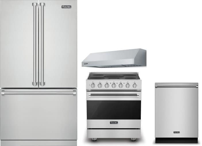 Viking vireradwrh121 4 piece kitchen appliances package - 3 piece kitchen appliance package ...