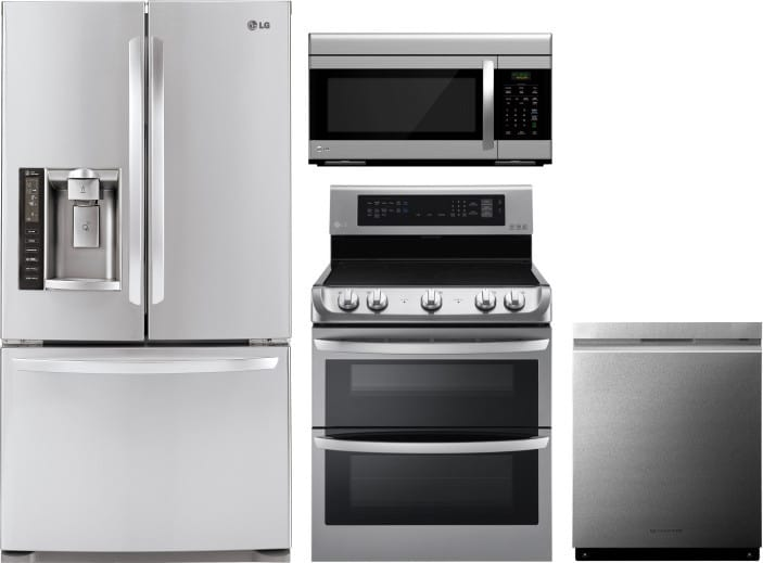Kitchen Appliance Package Counter Depth
