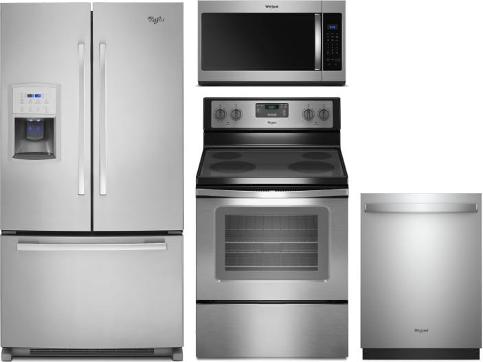 Whirlpool Wpreradwmw7170 4 Piece Kitchen Appliances