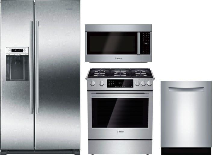 Bosch Boreradwmw926 4 Piece Kitchen Appliances Package