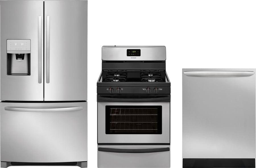 Frigidaire frreradw59 3 piece kitchen appliances package - 3 piece kitchen appliance package ...