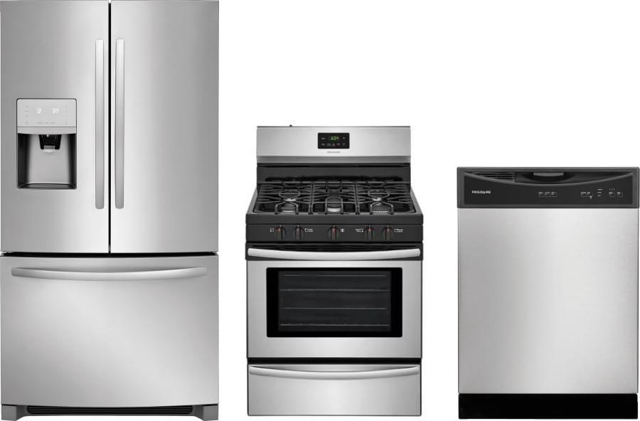Frigidaire frreradw70 3 piece kitchen appliances package - 3 piece kitchen appliance package ...
