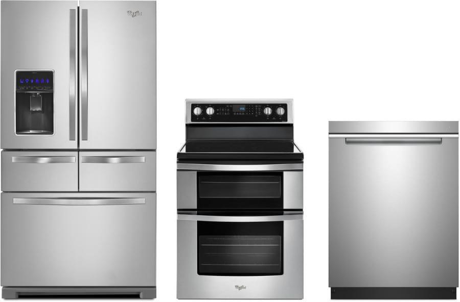 Whirlpool wpreradw36 3 piece kitchen appliances package - 3 piece kitchen appliance package ...