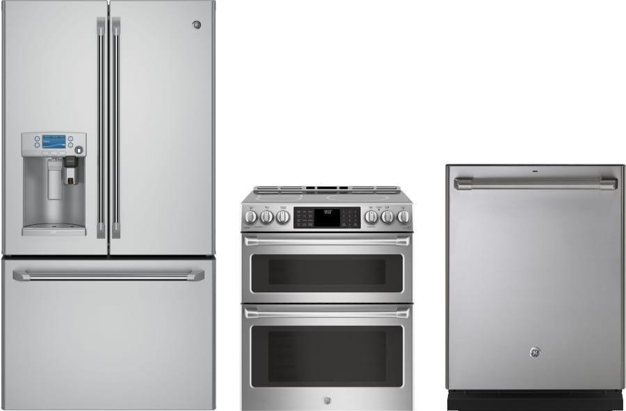Ge gereradw118 3 piece kitchen appliances package with - 3 piece kitchen appliance package ...