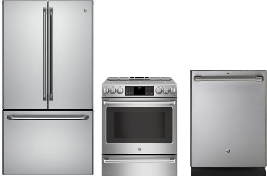 Ge gereradw120 3 piece kitchen appliances package with - 3 piece kitchen appliance package ...