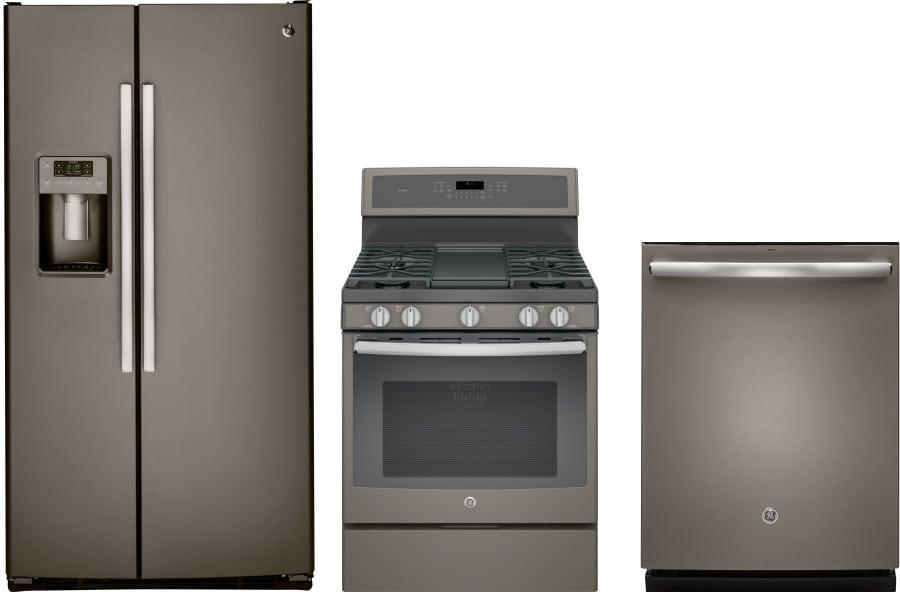 Ge gereradw206 3 piece kitchen appliances package with - 3 piece kitchen appliance package ...
