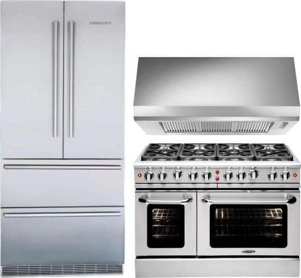 Liebherr lirerarh6 3 piece kitchen appliances package with - 3 piece kitchen appliance package ...