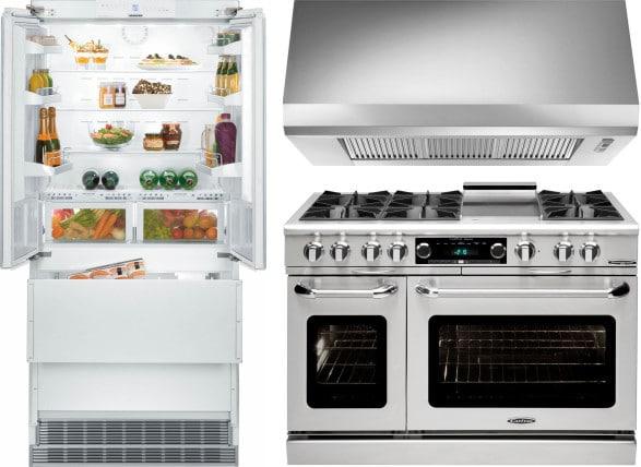 Liebherr lirerarh14 3 piece kitchen appliances package - 3 piece kitchen appliance package ...