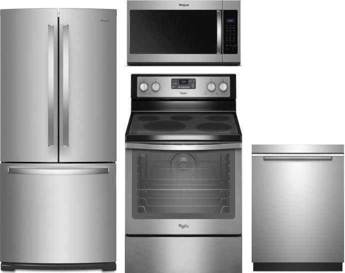 Whirlpool Wpreradwmw7560 4 Piece Kitchen Appliances