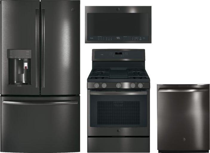 Ge Gereradwmw8191 4 Piece Kitchen Appliances Package With