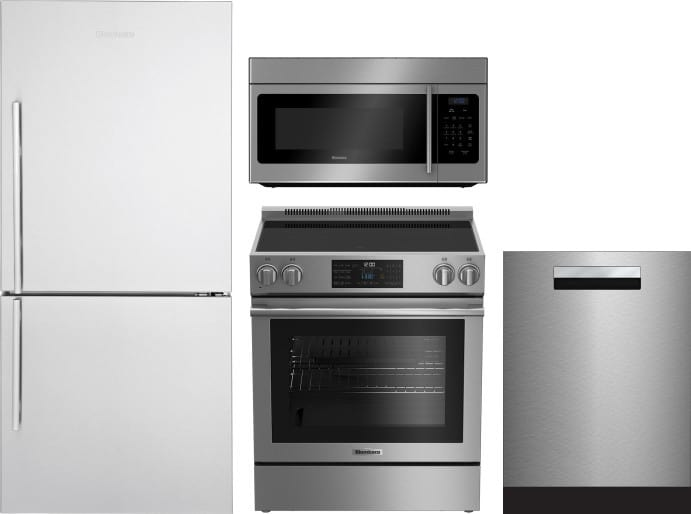 Blomberg Blreradwmw173 4 Piece Kitchen Appliances Package