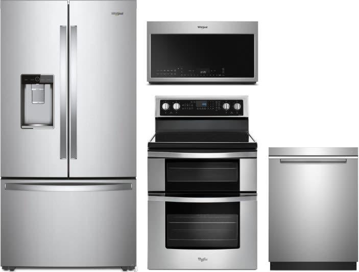 Whirlpool WPRERADWMW8862 4 Piece Kitchen Appliances Package