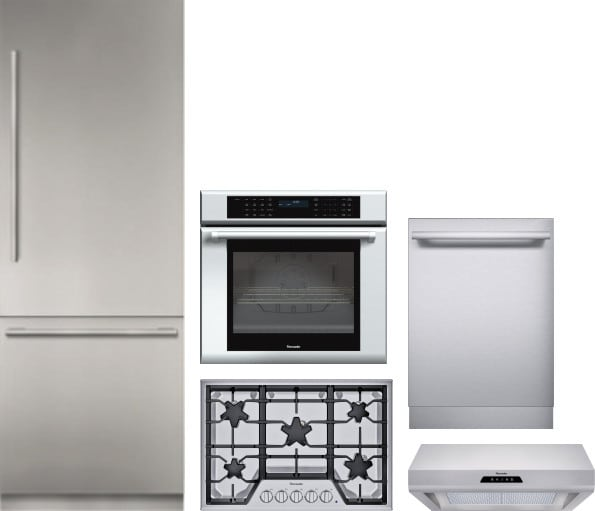 Thermador Threctwodwrh92 5 Piece Kitchen Appliances