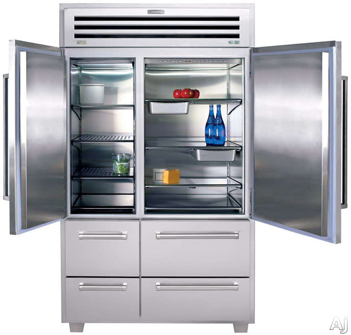 sub zero 648pro 48 inch built in side by side refrigerator. Black Bedroom Furniture Sets. Home Design Ideas