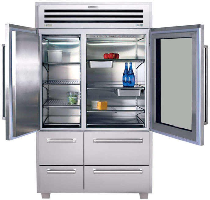Sub Zero 648prog 48 Inch Built In Side By Side Refrigerator With