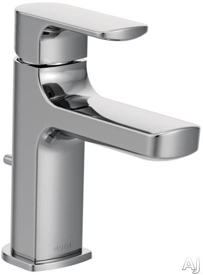 Moen 6900 Single Handle Cast Spout Bathroom Faucet With 4