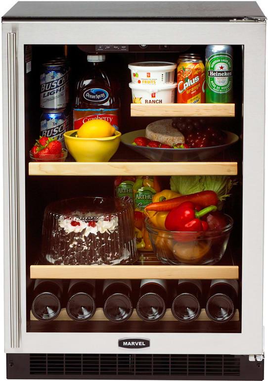 Marvel Luxury Series 6garmbsgl Refrigerator Storage Capabilities