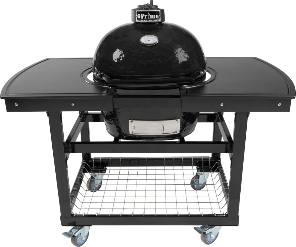 grill components primo oval jr 200 774 optional 2 piece table island - Primo Grills