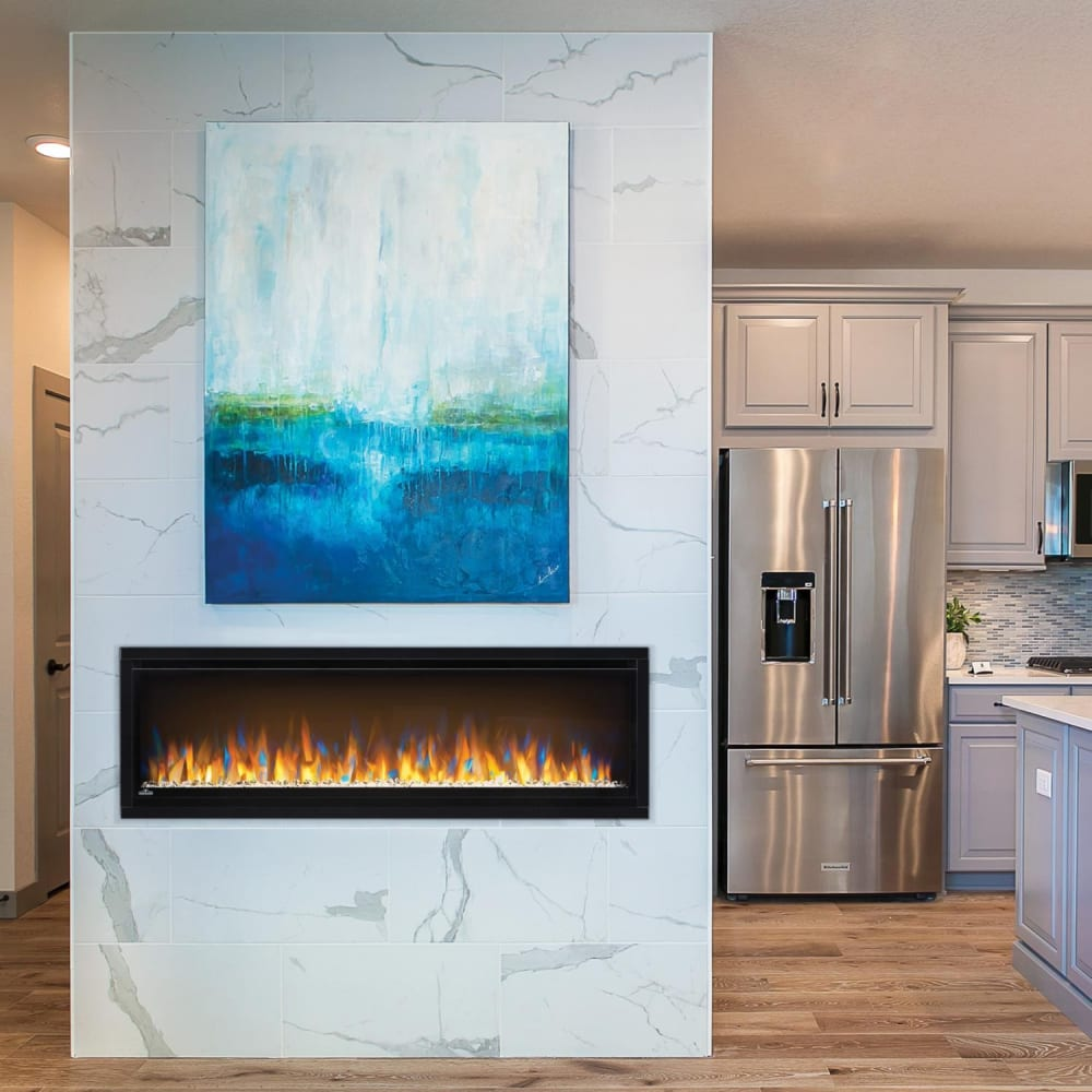 Napoleon Nefl50chs 50 Inch Alluravision Slimline Electric Fireplace With 6 Ember Bed Colors 4