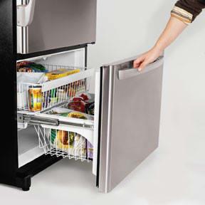 Amana Abd2233deb 21 9 Cu Ft Bottom Freezer Refrigerator