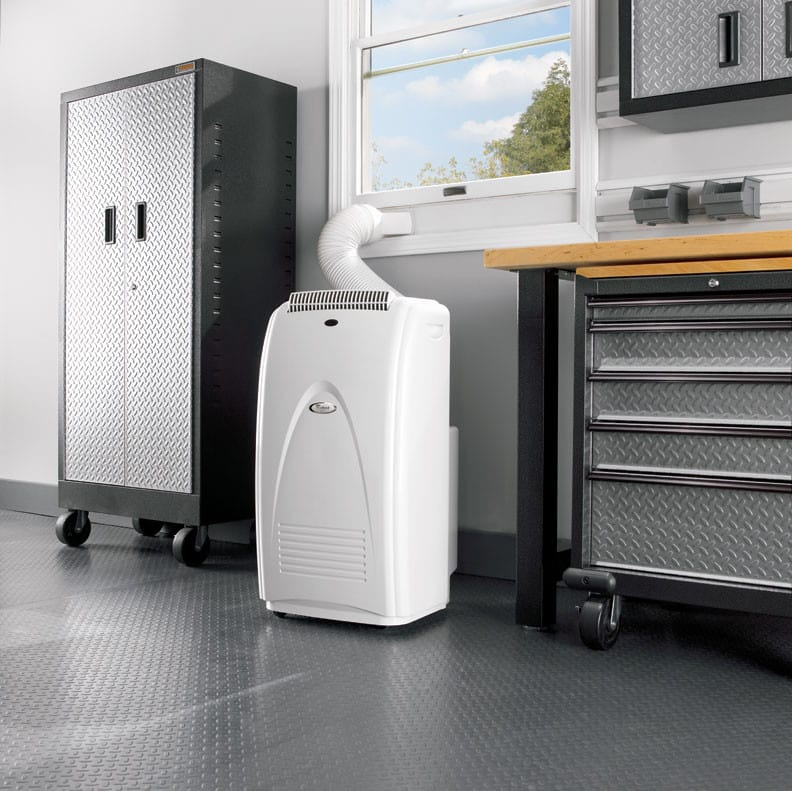 Whirlpool ACP102PR 18 Inch DesignerStyle Portable Air Conditioner ...