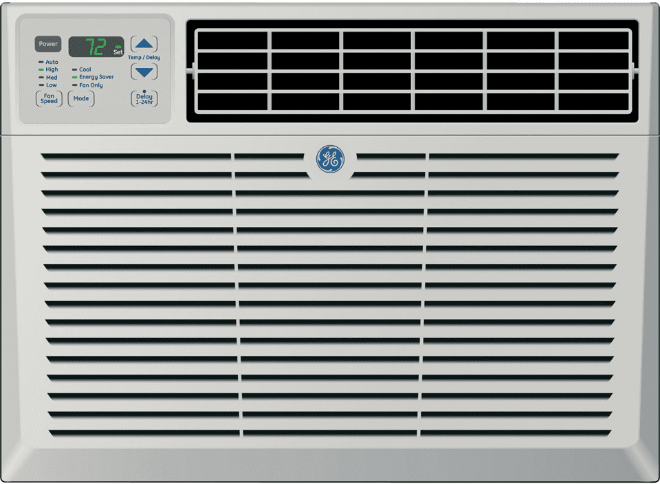 ge aem08lq 8 000 btu window room air conditioner with r 410a refrigerant 10 8 eer 195 cfm. Black Bedroom Furniture Sets. Home Design Ideas