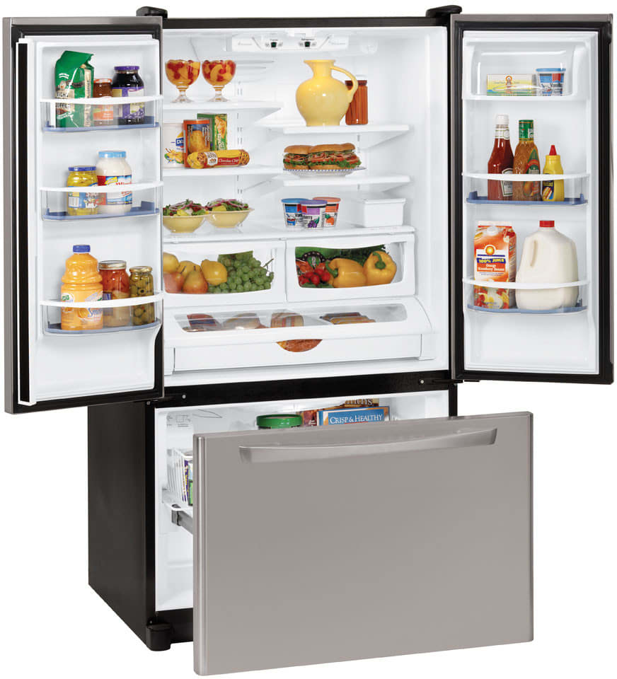 Amana Afd2535des 25 Cu Ft French Door Bottom Freezer