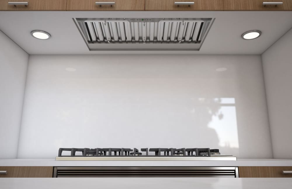 zephyr power monsoon i series ak9234as kitchen view - Zephyr Range Hoods