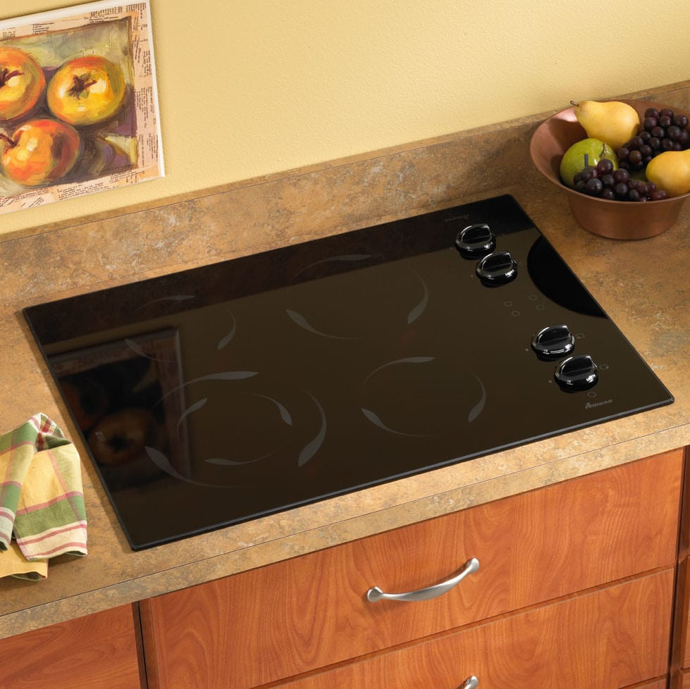 surface common electric pl at shop radiant frigidaire countertops cooktops appliances black smooth cooktop com lowes stove countertop