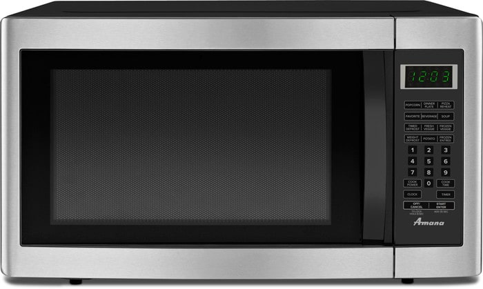 Amana Amc2166as 1 6 Cu Ft Countertop Microwave With 1200