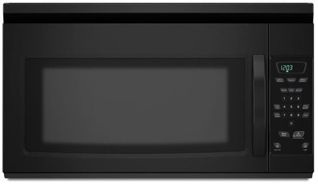 amana amv1150vab 1 5 cu ft over the range microwave oven. Black Bedroom Furniture Sets. Home Design Ideas