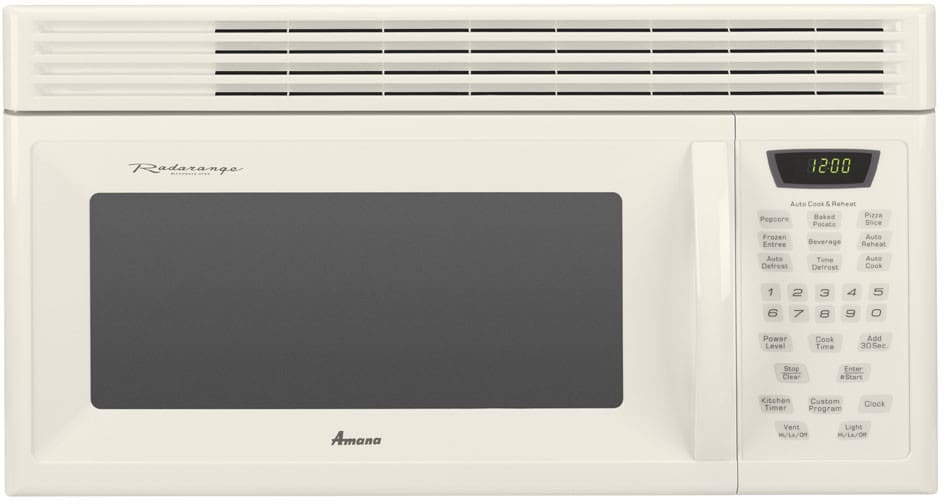 Amana Amv1162aaq 30 Inch Over The Range Microwave Oven