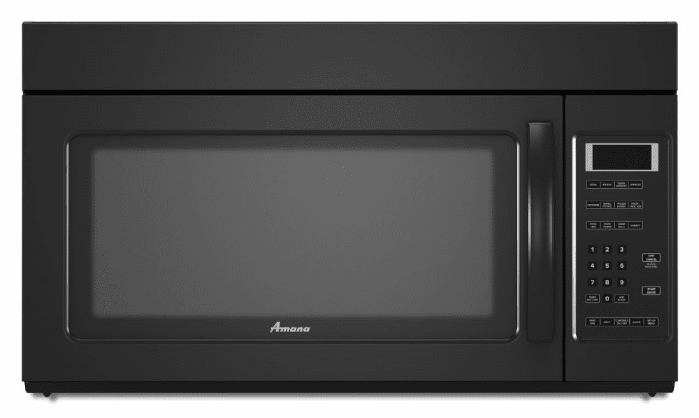 amana amv2175cb 1 7 cu ft over the range microwave oven. Black Bedroom Furniture Sets. Home Design Ideas