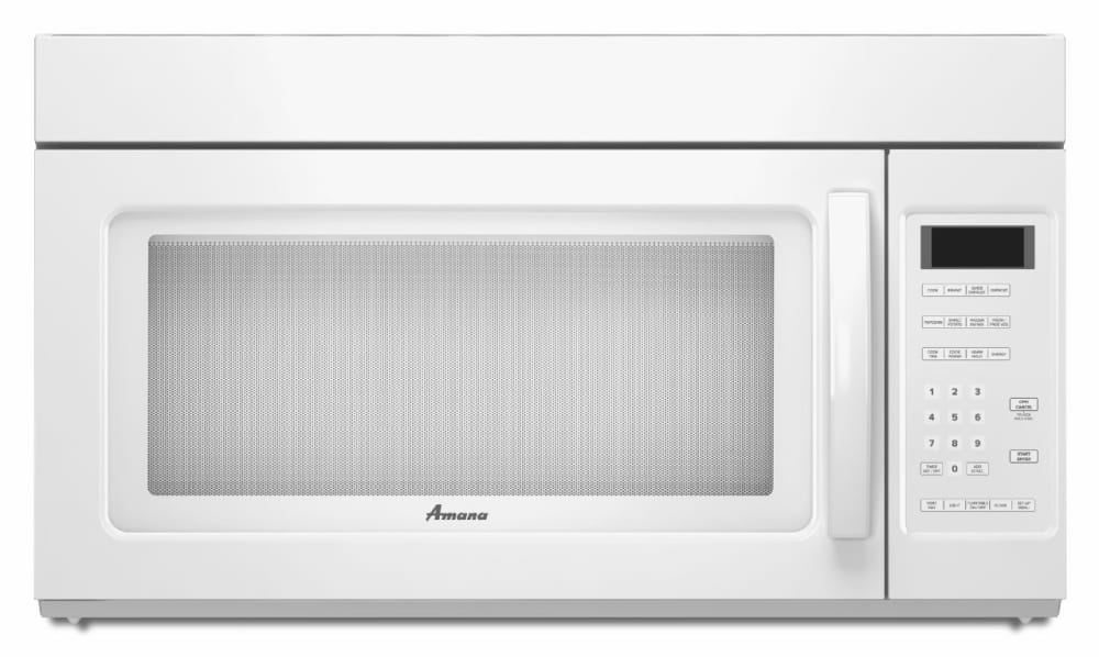 Amana Amv2175cw 1 7 Cu Ft Over The Range Microwave Oven