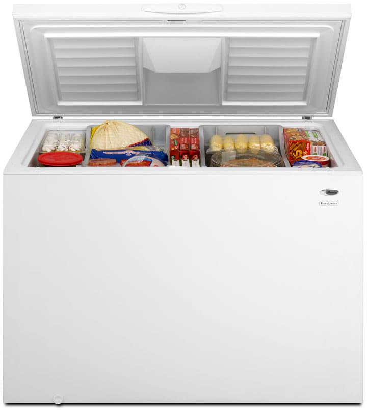 Amana Aqc1513tew 14 8 Cu Ft Chest Freezer With 2